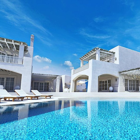 Guten Rutsch ins neue Jahr 🥂🍾 CGI @michaelmlynek  #render_contest #3dinterior #renderbox #exterior #summer #pool #greece🇬🇷 #santorini #mykonos #luxuryrealestate #luxury #3d #3dmaxrendering #3dmaxvray #magazine #website #blog #blogger #commercials #color #blue #weather #realestate #summerfeeling