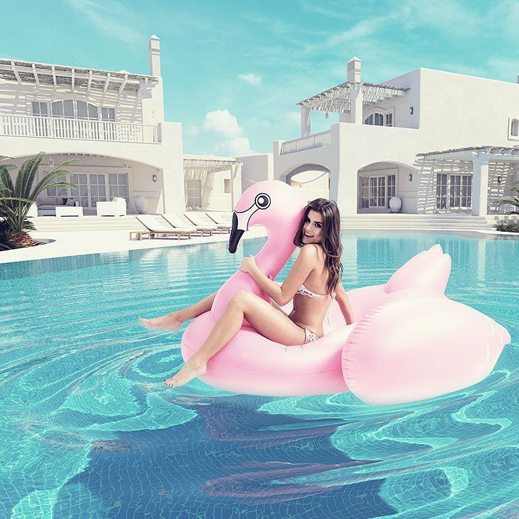 Pink Flamingo  CGI @michaelmlynek  Photo @monika_mlynek  #render_contest #renderbox #renderizer #model #photographer #digitalart #digitalartist #cgi #3d #3dmax #3dmaxvray #pool #summer #instamood #villa #luxury #luxuryrealestate #cover #magazine #exterior #floating #pink #flamingo #happy #fun