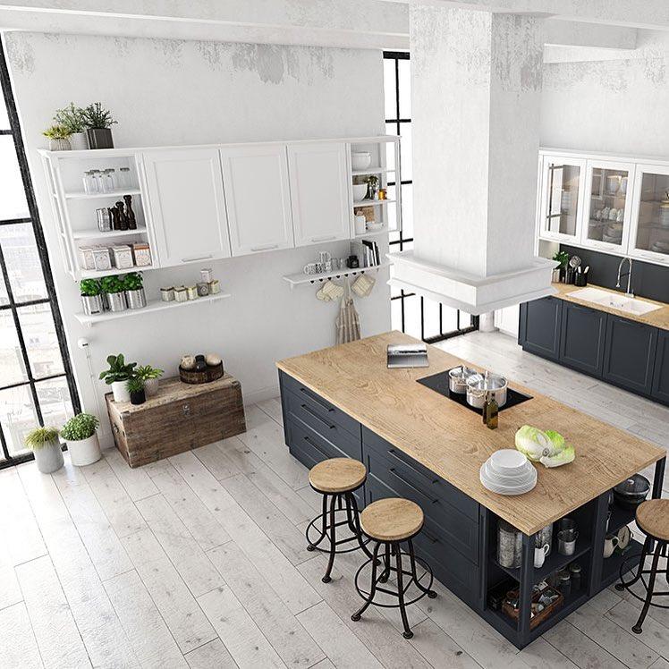 Top view of my CGI kitchen ️ #render_files #apartment #photooftheday #instaartist  #instarender #render #renderbox #renderart #renderizer #render_contest #cgworld #cgartistlab #3dmax #vrayrender  #cgi #instamood #instahome #decoration #homedecor #homedecoration #3dvisualization #rendercollective #kitchen #loft #scandinavianinterior #nordichomes #nordicstyle #archidaily #architecture #picoftheday
