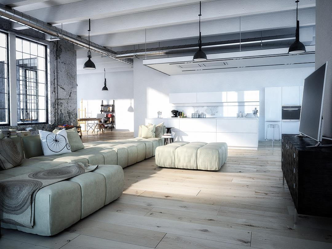 Have a nice evening 🥗🥂 #render_files #apartment #photooftheday #instaartist  #instarender #render #renderbox #renderart #renderizer #render_contest #cgworld #cgartistlab #3dmax #vrayrender  #cgi #instamood #instahome #decoration #homedecor #homedecoration #3dvisualization #rendercollective #loft #urban #newyorkcity #kitchen #livingroom #industrial